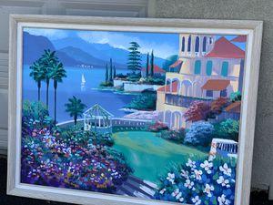 Picture frame 52x30 for Sale in Rancho Santa Margarita, CA
