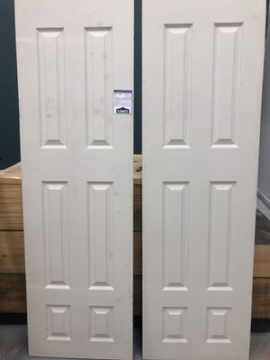 I have 24x82 door brand new never used $50 each for Sale in Russellville, KY