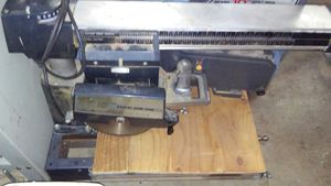 Radial arm saw planer belt sander and table saw for Sale in Aurora, CO