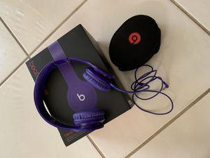 Beats Solo HD purple for Sale in Boca Raton, FL
