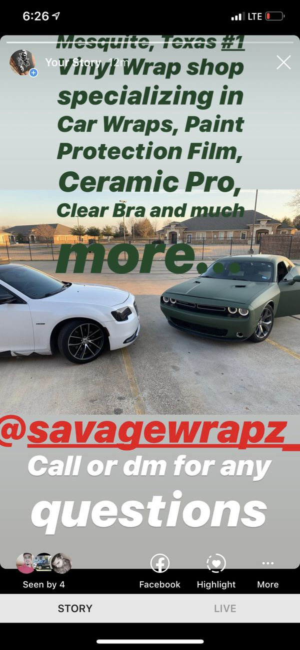 Full wraps years of experience