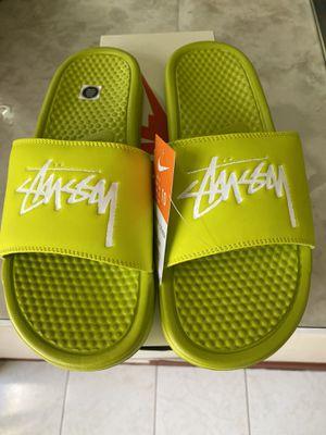 Stussy Benassi Slides Size 10 for Sale in San Jose, CA
