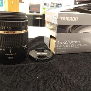 Tamron Lens For Canon for Sale in New Britain, CT