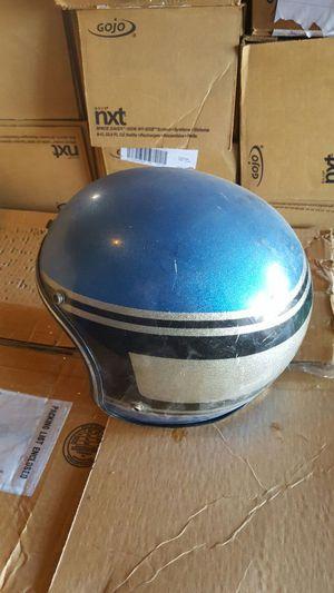 Vintage 70's metal flake motorcycle helmet for Sale in Everett, MA