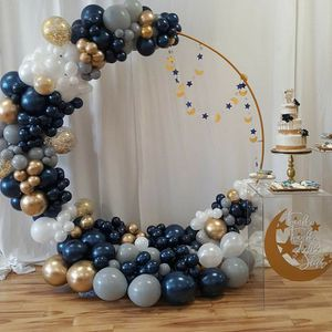 Circle backdrop with balloon garland decoration😊🎈 for Sale in Corona, CA