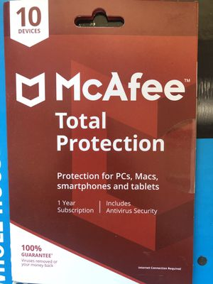 McAfee AntiVirus for Sale in Clovis, CA
