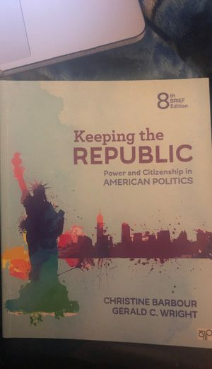 Keeping the Republic 8th Edition (Unused) for Sale in Arlington, TX