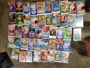 WALT DISNEY VHS MOVIE COLLECTION for Sale in Kent, WA
