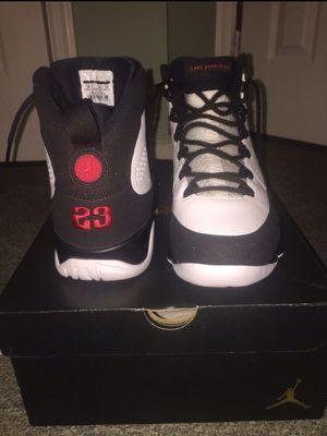 Jordan retro 9s (Space Jam) OG size 10 for Sale in Philadelphia, PA