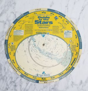 Planisphere Constellations Sky Star Finder Map for Sale in Cape Coral, FL