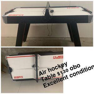 Air hockey table. Played with once or twice. In excellent condition. $130 obo for Sale in Elk Grove, CA