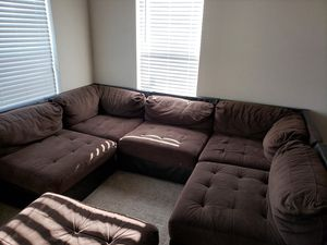 7 piece sectional couch for Sale in Colorado Springs, CO