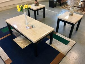 Brand new Coffee table set 3pcs for Sale in Fresno, CA