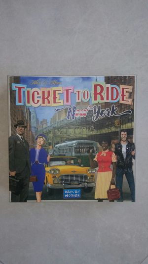 Ticket to Ride Board Game for Sale in Mission Viejo, CA