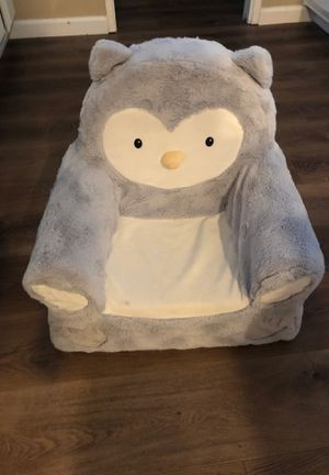 Kids plush owl chair for Sale in Martinez, CA