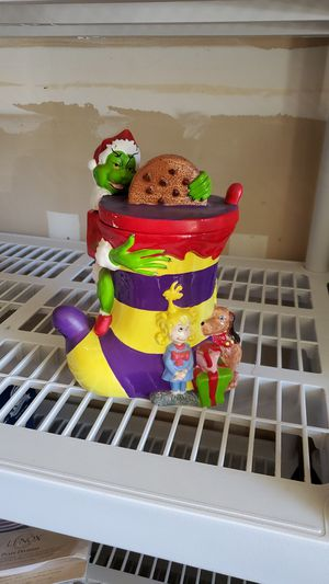 Grinch collectible cookie jar. for Sale in Fresno, CA