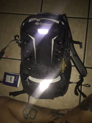 Professional backpacking backpack guaranteed for life light weight but very strong and durable.. includes built two liter water holder.. this item ha for Sale in Moreno Valley, CA