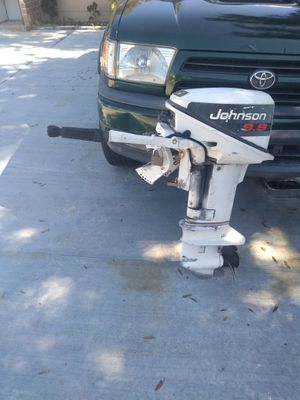 JOHNSON 9.9 OUTBOARD MOTOR GOOD CONDITION for Sale in Tampa, FL