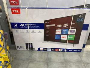 Tcl 55inch for Sale in Tampa, FL