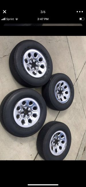 Good year wrangler ST Tires P265/70/R17 for Sale in Escondido, CA