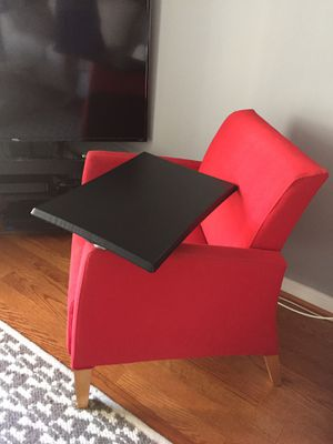 Mid-Century Modern Lounge Chair w/ Tablet Arm (4 available) for Sale in Alexandria, VA