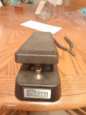 Cry baby wah guitar pedal for Sale in Vista, CA