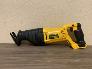 NEW 20V SAWZALL (ONLY TOOL) NO BATERIA NO CARGADOR for Sale in Dallas, TX