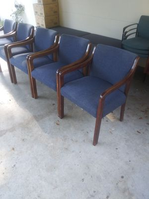 TWELVE MATCHING LOBBY CHAIRS for Sale in Tampa, FL