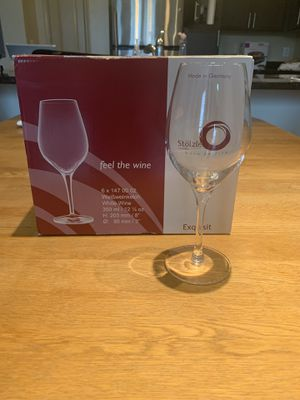 6 wine glasses for Sale in Arlington, VA