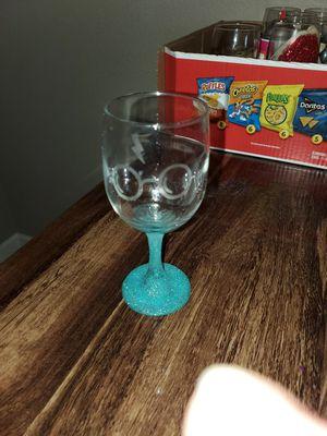 Custom wine glasses 10 basic 15 custom for Sale in Colorado Springs, CO