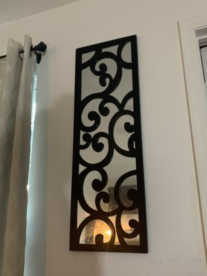Black wall mirror for Sale in Orlando, FL
