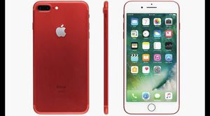 IPhone 7Plus (RED Edition) (Unlocked) for Sale in Miami Gardens, FL