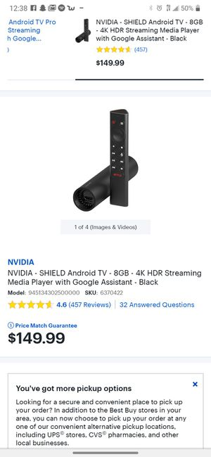 Nvdia shield android for Sale in Tempe, AZ