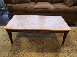 ANTIQUE GRANITE COFFEE TABLE for Sale in Houston, TX
