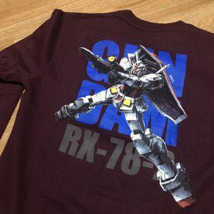 Bait x Gundam - RX 78 2 Crewneck Sweater - Maroon - Medium for Sale in Anaheim, CA