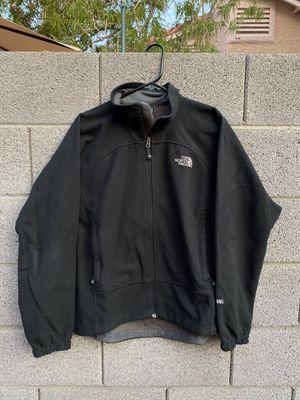 The North Face Windwall Black Full Zip Mens Fleece Jacket M for Sale in Las Vegas, NV