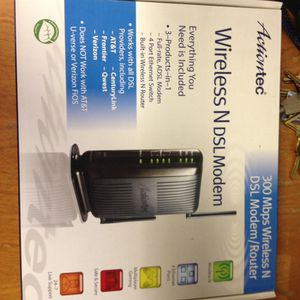 Actiontec wireless N DSL modem for Sale in Beaumont, CA