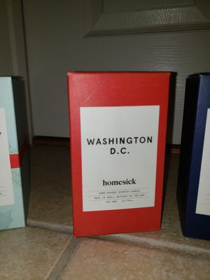 Homesick Washington D.C. Soy Candle for Sale in Darnestown, MD