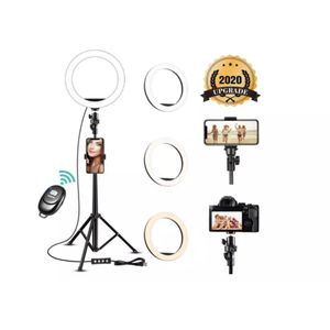 8 inch Selfie Ring Light with Tripod Stand, 3 Color Lighting for Sale in Staten Island, NY