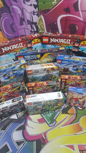 Massive lot of NIB lego sets for Sale in Woodway, WA