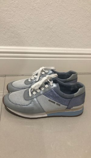 Michael Kors blue sneakers for Sale in Miami, FL