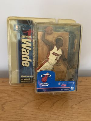 Dwayne Wade Miami Heat Action Figure 2nd edition for Sale in Tampa, FL