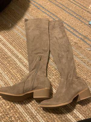 Women's tan suede boots for Sale in Bothell, WA