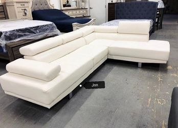 Antares White Modern Sectional | U7101 byGlobal for Sale in Silver Spring,  MD