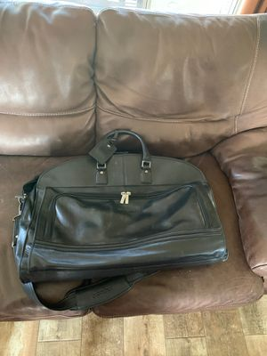 Leather overnight garment bag (excellent condition) for Sale in Gilbert, AZ