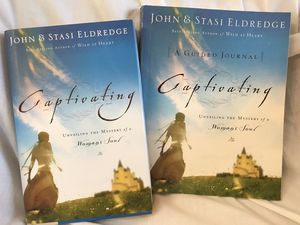 Captivating book and journal. John and Staci Eldridge. Unveiling the mystery of a woman's soul! Christian for Sale in Battle Ground, WA