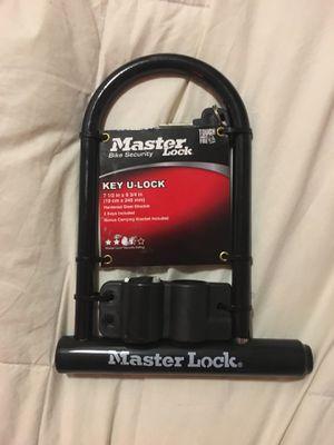 "Master lock key U-Lock 7 1/2"" x 9 3/4"" Brand New for Sale in Portland, OR"