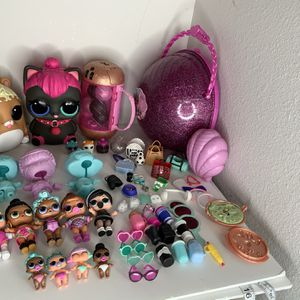 Huge Lol Dolls Lot With Biggie Pets & Accessories for Sale in Gresham, OR