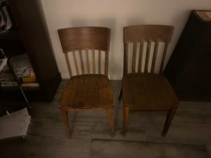 Two antique wood chairs for Sale in Nashville, TN