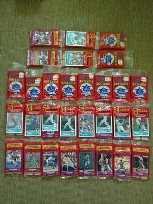 10, 1988 Score baseball cards unopened rack packs for Sale in Accokeek, MD